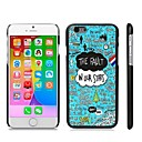 Stylish Patterned Hard Plastic Snap On Case for iPhone 6 Plus