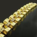 18K Gold Plated Strap Zircon Bracelet