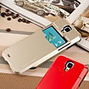PC Hard Case with Slide and Card Slot for Samsung Galaxy S4 I9500 (Assorted Colors)