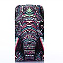 Elephant Pattern PU Leather Full Body Case and Card Slot for LG G2 Mini