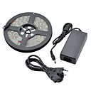 Waterproof 5M 36W 1800lm 150x5050 SMD Cool White Light LED Strip Light (DC 12V)