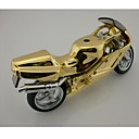 Creative Motorcycle Style Metal Butane Jet Gas Lighter