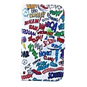 Words Scrawl Pattern PU Leather Full Body Case for for Samsung S5 I9600