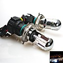 35W 12V  H4 15000K Xenon Hi/Lo Beam HID Replacement Bulbs For Headlight