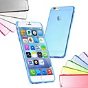 Ultra Thin Slim TPU Soft Case for iPhone 6 (Assorted Colors)