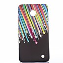 Colorful Meteoric Shower Pattern Plastic Hard Cover for Nokia N630