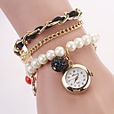 Womens Hang Bow Bracelet Watch New Pearl Series  Watches(Assorted Colors) CD-135