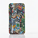 Toophone JOYLAND Plastic The Bustling Urban Map Back Case for iPhone 4/4S