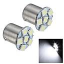 Merdia 1.5W 35LM 1156 6x5050SMD LED White Light Brake Light / Reversing Lamp/Turn Signal Light(2 PCS/24V)