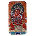 Kinston Religious Pattern Six Pattern PU Leather Full Body Case with Stand for Huawei P6