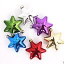 Christmas Tree Decoration Electroplating Hexagonal Star