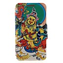 Kinston Religious Pattern Three Pattern PU Leather Full Body Case with Stand for Huawei P6