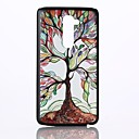 Colorful Tree Pattern PC Hard Back Cover Case for LG G2