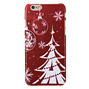 White Christmas Tree Pattern PC Back Cover for iPhone 6