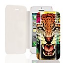 Atrocity Tiger PU Leather Full Body Case for iPhone 5/5S
