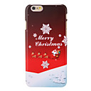 Merry Christmas Pattern PC Back Cover for iPhone 6