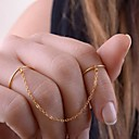 Fine Copper Tassel Double Refers to Ring