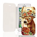 Sika Deer PU Leather Full Body Case for iPhone 5/5S