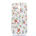 Elegant Blooms Pattern TPU Soft Case for Motorola MOTO G2