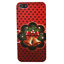 Christmas Bell Pattern PC Back Cover for iPhone 5/5S