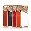 Genuine Leather Pattern Plastic Cover with Stand and Card Slot for  iPhone 6 Plus(Assorted Colors)