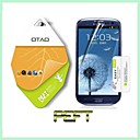 Use Japan PET Nano Material Curved Protective Guard Screen Protector for Samsung Galaxy S3 i9300(PEFT)