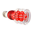 E27 3W RGB Crystal LED Light Bulb With 24 Keys IR Remote Controller (85V-265V)