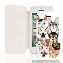 Cat PU Leather Full Body Case for iPhone 5/5S