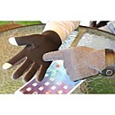 Unisex 2-Finger Capacitive Screen Touching Fleece Winter Warm Gloves for iPhone 6/iPad and Others(Assorted Colors)
