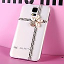 LUXURY Fully Jelly Diamonds Crystal Pearl Flower Back Cover Case for SAMSUNG Galaxy S5 I9600