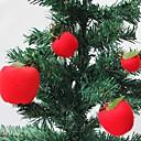 12 PC paz manzanas colgar decoraciones de Navidad