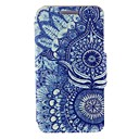Kinston Retro Sunflower Eye Pattern PU Leather Full Body Case with Stand for Huawei P6