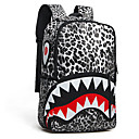 Coexistence Leopard Print Laptop Cases Large-Capacity Travelling Bags