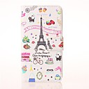 Palettes Sweet Street Pattern PU Leather Case with Stand and Card Slot for Huawei Ascend Y550