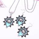 Turquoise Jewelry Set Owl Set