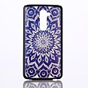 Blue Mandala Pattern PC Hard Back Cover Case for LG G2