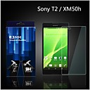 0.33mm 2pcs Screen Protector with Cleaning Cloth for SONY T2