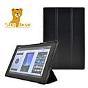 Image of timido orso ™ stile cavallo pazzo basamento coperture dure caso della copertura di cuoio astuta per Sony Xperia Z2 tablet da 10.1 pollici