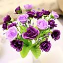 """7.9 """"l juego de 1 noble 21 cabezas de flores de seda de rosas de diamante multicolor"""