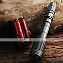 2000LM CREE XML T6 LED Zoombale Flashlight  2x18650 Batteries  Charger
