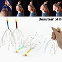 1PCS Manual Head Acupressure Points Scalp Neck Body Massager Stress Release Relax Claw Massager