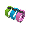 tw64 braccialetto smartband vita indossabile pedometro impermeabile smartwatch per ios android