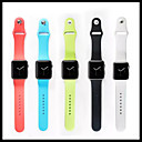 Sport Band For Apple Watch 3 38mm 42mm Rubber Replacent Watch Band