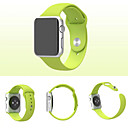 Sport Watch Band for Apple Watch 3 42mm Silicone Replacement Watch Band