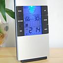 Umidità mete lcd strumenti di temperatura digitale temperatura termometro igrometro orologio misuratore di umidità