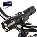 1000 lm lm Linternas LED Cree T6 5 Modo A100 - Táctico / Zoomable / Impermeable