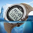 Da uomo / Unisex Quarzo giapponeseLED / Resistente all'acqua / Monitoraggio frequenza cardiaca / Nottilucente / Velocimetro / Pedometro /