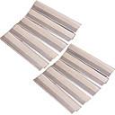 Cuchilla de Afeitar Rostro Manuel Diseño ergonómico Afeitado húmedo y seco / Afeitado en Seco Acero inoxidable