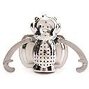 acciaio inox foglia Strumenti Casa bere scimmia forma tè infusers filtro bel colino diffusore tè