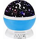 1 juego MOON Estrella Sky Projector NightLight Colorido Pilas AAA alimentadas USB Para Niños Regulable con cable USB Romántico Lámpara de